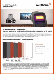 Folder Welltherm ESHC techniek