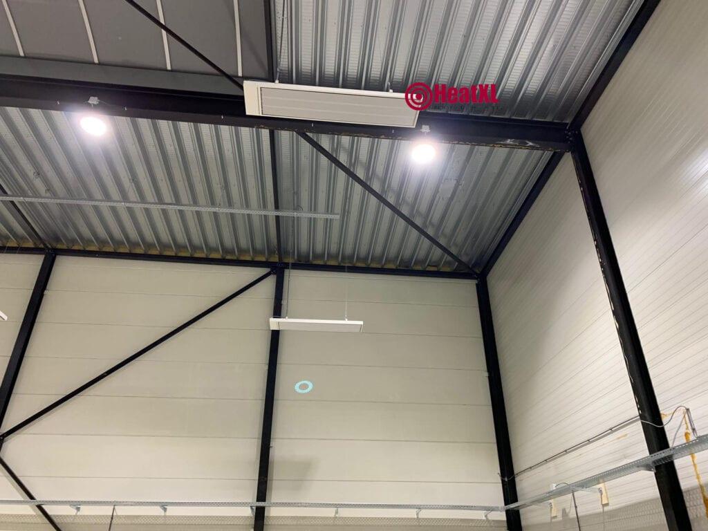 infrarood werkplaats verwarming